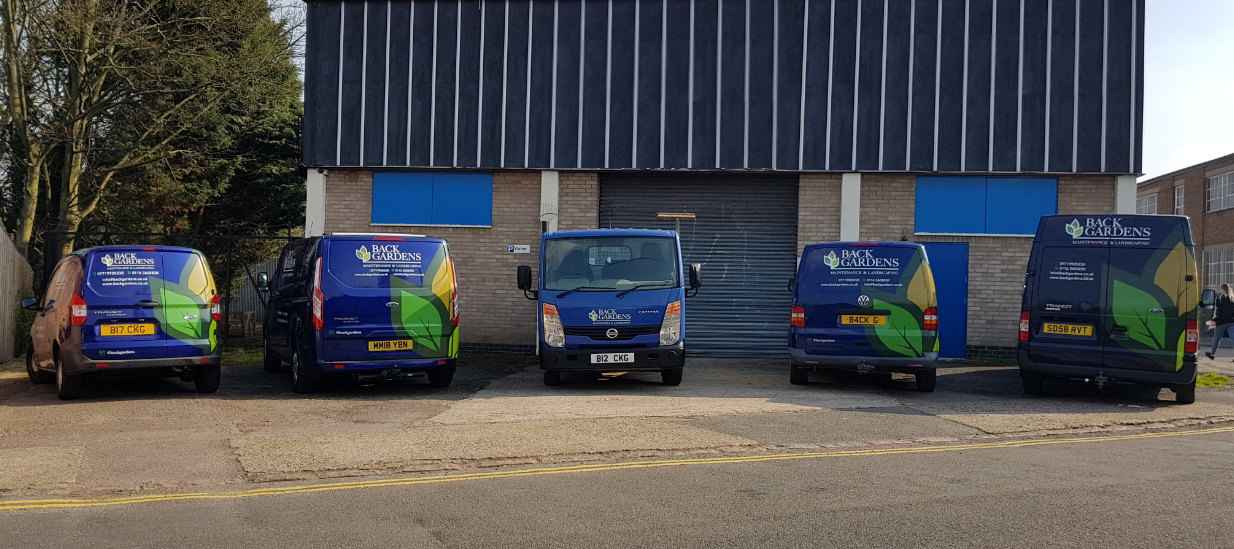 The Back Gardens Ltd Vans