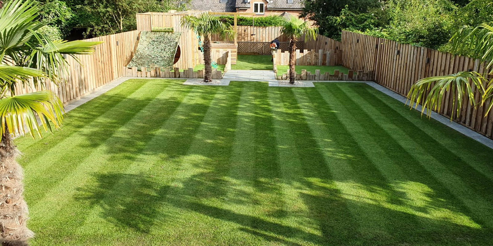 complete garden design and landscaping