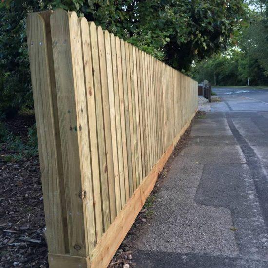 Front Garden fencing